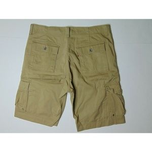 Levi's 40 Cargo Shorts Cotton Red Tab Work Wear